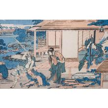 Katsushika Hokusai: Chushingura Act VII - The Ichiriki Teahouse - Robyn Buntin of Honolulu