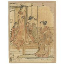Torii Kiyonaga: Bijinga (Beautiful Women) - Robyn Buntin of Honolulu