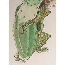 Unknown: Kappa with Cucumber - Robyn Buntin of Honolulu