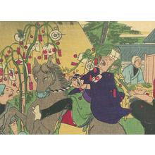 Ikkei: Comic Scene at Kameido Shrine - Robyn Buntin of Honolulu