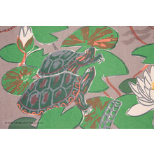 Oda Mayumi: In The Pond Diptych (10/50) - Robyn Buntin of Honolulu