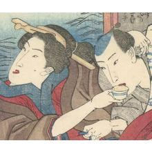 Utagawa Yoshitora: Shunga Couple - Robyn Buntin of Honolulu