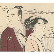 勝川春潮: Ichikawa Danjuro and Courtesans - Robyn Buntin of Honolulu