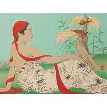 Paul Jacoulet: Les Paradisiers. Menado, Celebes 98/350 - Robyn Buntin of Honolulu