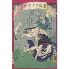 Ochiai Yoshiiku: Tokyo Nichi Nichi Shinbun - Robyn Buntin of Honolulu