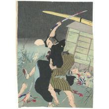 無款: Sword Fight - Robyn Buntin of Honolulu