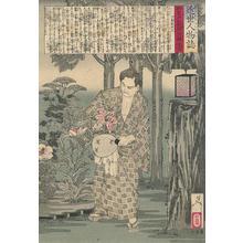 Tsukioka Yoshitoshi: Endo Shimpei - Robyn Buntin of Honolulu