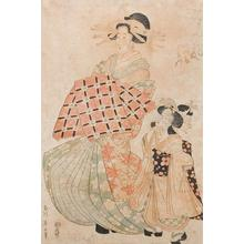 Kikugawa Eizan: Courtesan & Kamuro - Robyn Buntin of Honolulu