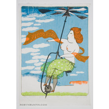 Oda Mayumi: Victorian Invention, An Aerial Cycle (26/50) - Robyn Buntin of Honolulu