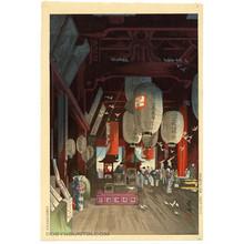Eisho: The Interior of the Asakusa Temple - Robyn Buntin of Honolulu