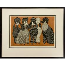 Asai Kiyoshi: 6 Poodles (57/80) - Robyn Buntin of Honolulu