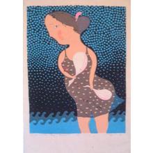 Oda Mayumi: Woman Calendar Big, Beauty in the Offing (3/50) - Robyn Buntin of Honolulu