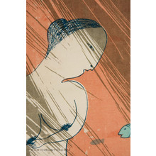 Oda Mayumi: Fish Overland in Rain Diptych (20/40) - Robyn Buntin of Honolulu