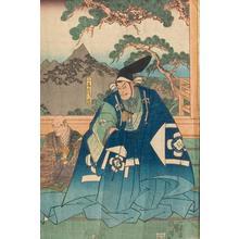 歌川国芳: Kabuki Scene - Robyn Buntin of Honolulu