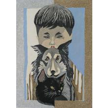 Sekino Jun'ichiro: Boy with Dog and Cat - Robyn Buntin of Honolulu