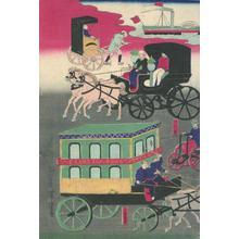 歌川芳虎: Vehicles in Tokyo Traffic - Robyn Buntin of Honolulu