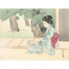 Tsukioka Kogyo: Enjoying the Evening Cool - Robyn Buntin of Honolulu