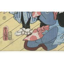 Utagawa Kunisada: Kabuki Scene - Robyn Buntin of Honolulu
