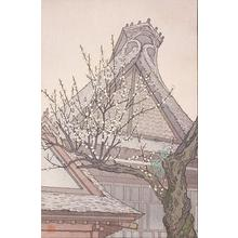 Yoshida Toshi: White Plum in the Farmyard - Robyn Buntin of Honolulu