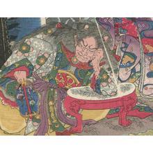 Utagawa Kuniyoshi: Tsuchiyama - Robyn Buntin of Honolulu