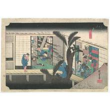 Utagawa Hiroshige: Akasaka on the Tokaido Road - Robyn Buntin of Honolulu