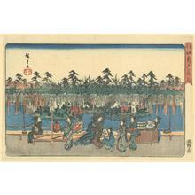 Utagawa Hiroshige: Wisteria at Kameido - Robyn Buntin of Honolulu