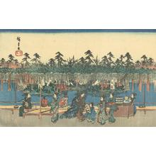 歌川広重: Wisteria at Kameido - Robyn Buntin of Honolulu