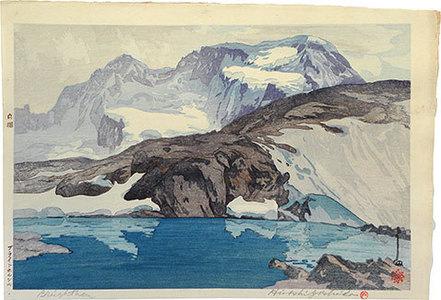 吉田博: Europe Series: Breighthorn (Oushuu: Buraito-horunn yama) - Scholten Japanese Art