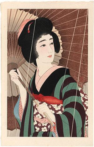 Torii Kotondo: Rain (Ame) - Scholten Japanese Art