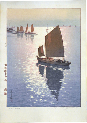 Yoshida Hiroshi: Calm Wind (Kaze Shizuka) - Scholten Japanese Art