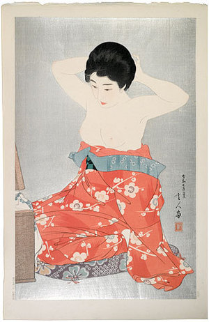 Torii Kotondo: Make-Up (Kesho) - Scholten Japanese Art