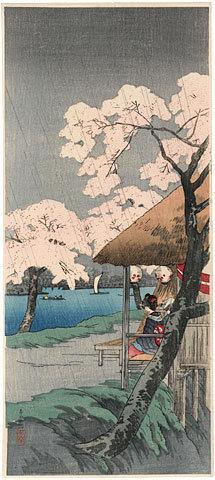 Takahashi Hiroaki: Sumida River (Sumida Gawa) - Scholten Japanese Art
