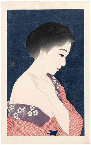 鳥居言人: Make-Up (Kesho) - Scholten Japanese Art