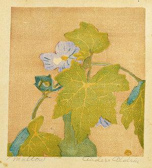 Anders Gustave Aldrin: Mallow - Scholten Japanese Art