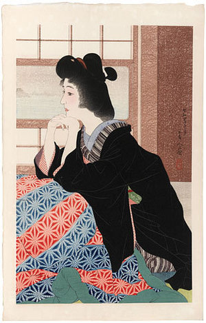 鳥居言人: Snow (Yuki) - Scholten Japanese Art