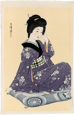 Hirano Hakuho: Young Girl (Wakai Onna) - Scholten Japanese Art