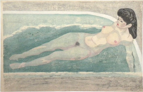 関野準一郎: Nude in Bath - Scholten Japanese Art