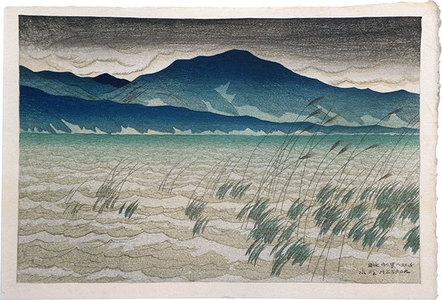 Ito Shinsui: Eight Views of Omi: Mount Hira (Omi hakkei no uchi: Hira) - Scholten Japanese Art