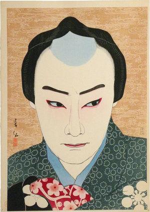 名取春仙: Collection of Shunsen Portraits: Nakamura Ganjiro I as Sakata Tojuro (Shunsen Nigao-e Shu: Nakamura Ganjiro) - Scholten Japanese Art