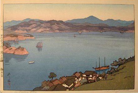 Yoshida Hiroshi: The Inland Sea, Second Series: A Calm Day (Seto uchi kaishu dai ni: Seinaru hi) - Scholten Japanese Art