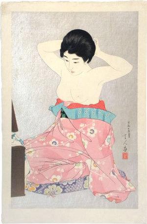 Torii Kotondo: Make-up (Kesho) - Scholten Japanese Art