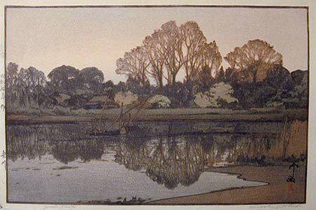 Yoshida Hiroshi: Yoshikawa (Yoshikawa) - Scholten Japanese Art