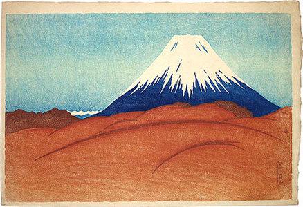Friedrich Capelari: Fuji from a Desolate Field - Scholten Japanese Art