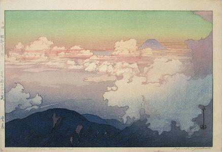 吉田博: The Southern Japan Alps Series: Above the Clouds (Nihon Minami Alps Shu: Unn Pyou) - Scholten Japanese Art