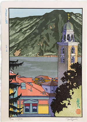 Paul Binnie: Travels with the Master: Lugano (Meishou To No Tabi: Lugano machi) - Scholten Japanese Art