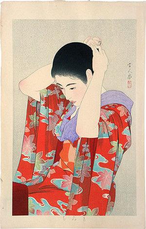 Torii Kotondo: Autumn Leaves (Momiji) - Scholten Japanese Art