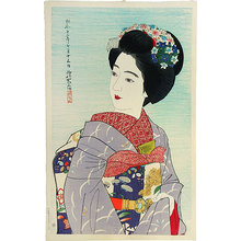 伊東深水: The Second Series of Modern Beauties: Maiko Girl (Gendai bijinshu dai-nishu: Maiko) - Scholten Japanese Art