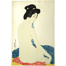 Hashiguchi Goyo: Woman After a Bath (Yokugo no Onna) - Scholten Japanese Art