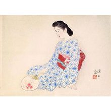 伊東深水: Ideal Japanese Woman (Yamatonadeshiko) - Scholten Japanese Art