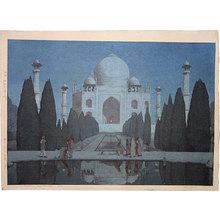 Yoshida Hiroshi: The Taj Mahal at Night No. 6 - Scholten Japanese Art